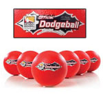 Official NDL foam 8.25 inch dodgeball - 6 ball set.